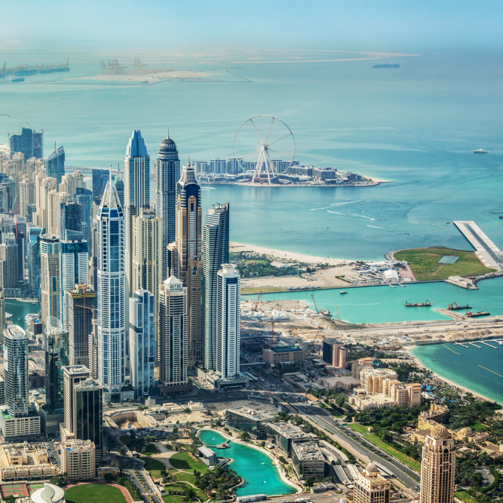 Why does UK consider UAE as the real estate Hub?